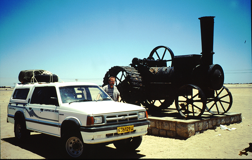 Swakopmund, Namibia, Dampfochse
