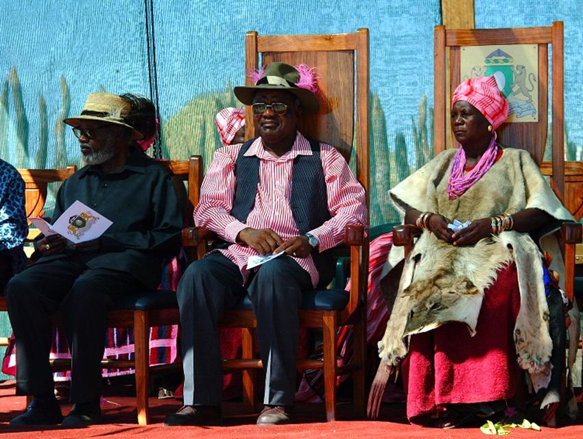 Ukwanyama Königin Meekulu Martha Mwadinomho yaKristian Nelumbu