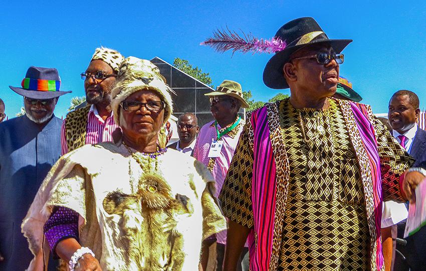 Ukwanyama Königin, Namibia