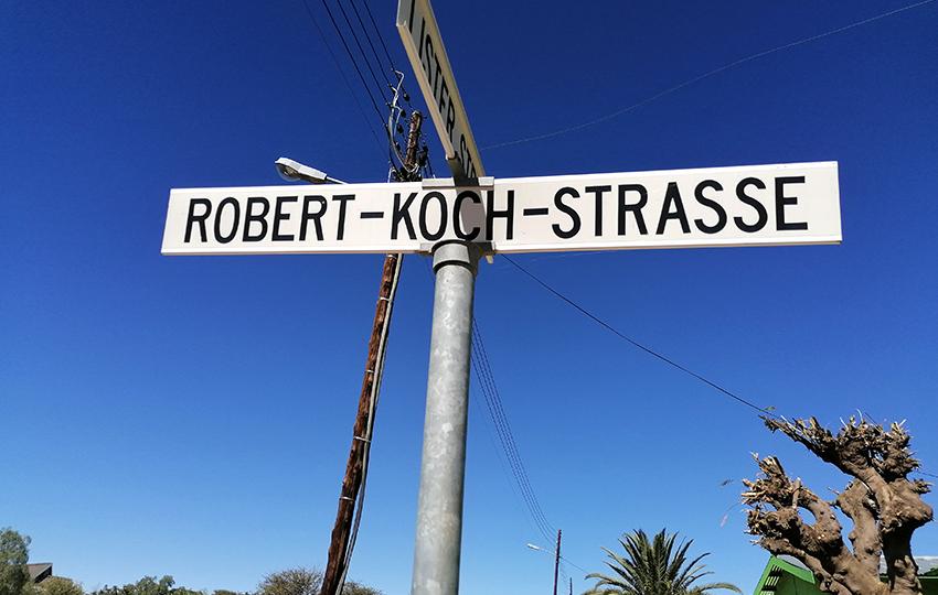 Robert-Koch-Straße, Windhoek, Namibia