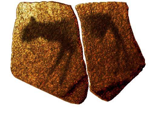 Sandstein-Platte, Apollo-11-Höhle, Namibia g edit
