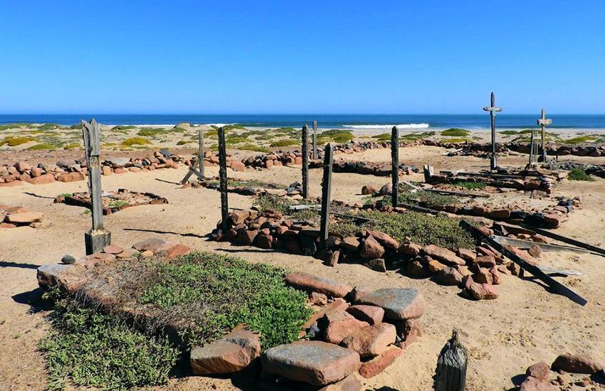 Gräber, Kreuzkap, Namibia