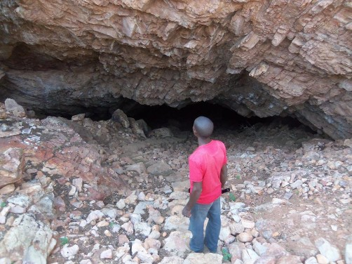 Arnhem-Höhle, Namibia