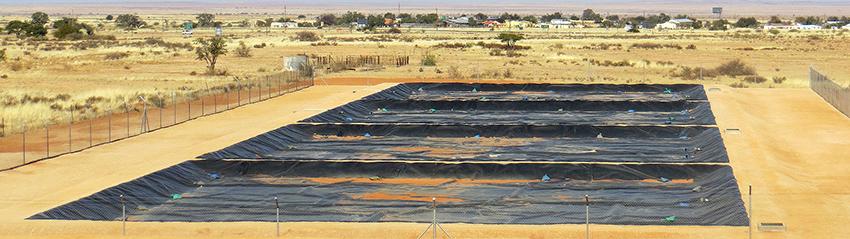 Osmoseanlage, Grünau, Namibia