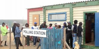Namibia Wahllokal