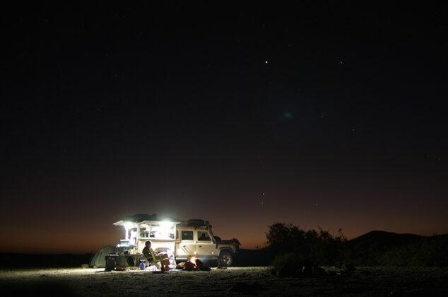 Camping im Kaokoland