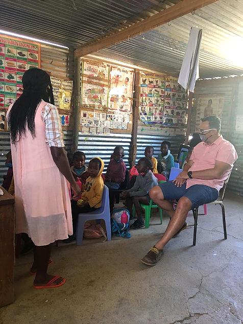 Natasha Vorschule, Namibia