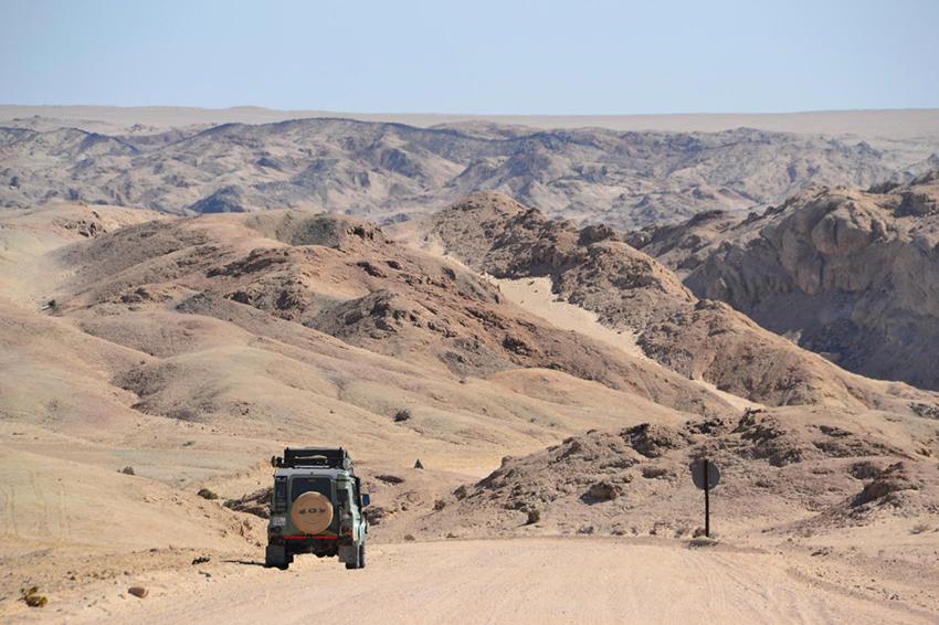 Namibia, Mondlandschaft