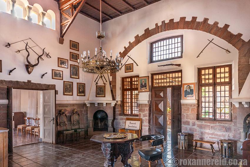 Rittersaal, Schloss Duwisib,