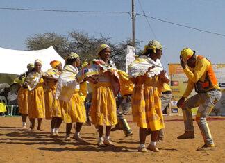 Nama-Tänzer, Namibia