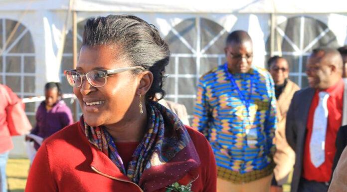 Namibias First Lady, Monica Geingos