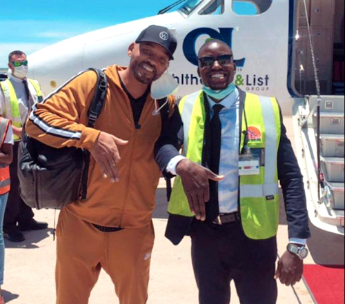 Will Smith in Namibia