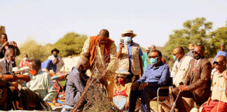 Namibia, Präsident Geingob