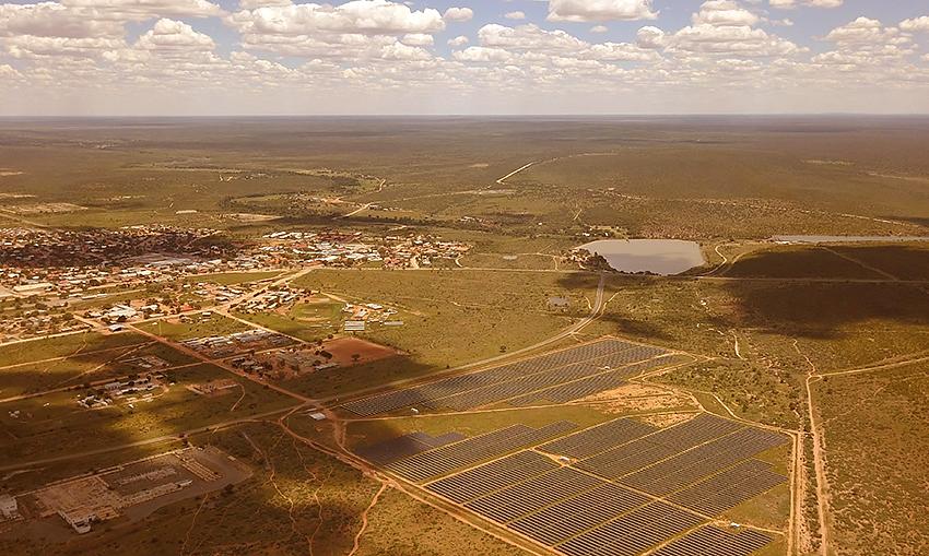 Ejuva Solaranlage, Namibia