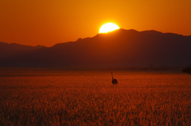 Namibia, Sonnenaufgang