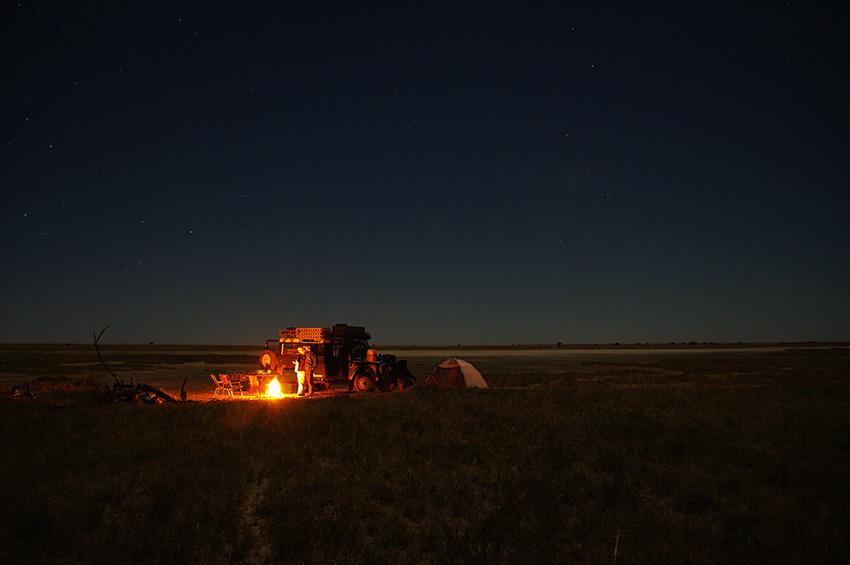 Namibia, Camping