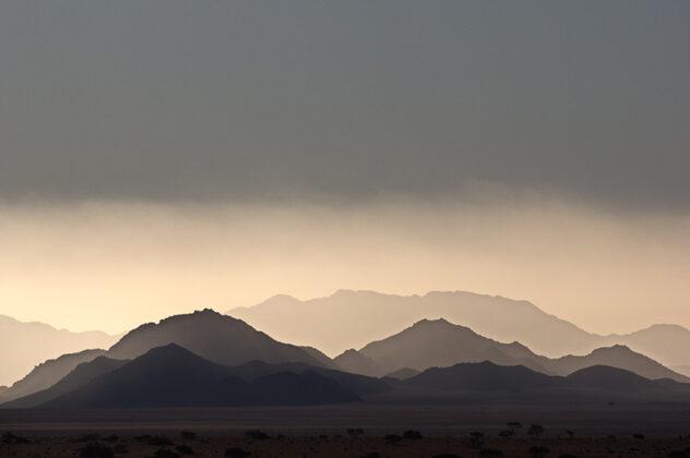 Namibia, Bergwelt