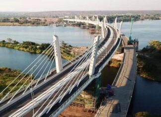 Brücke bei Kazungula