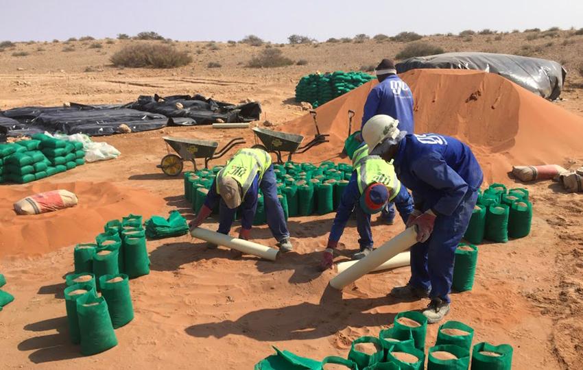 Nachhaltiges Bauen in Namibia