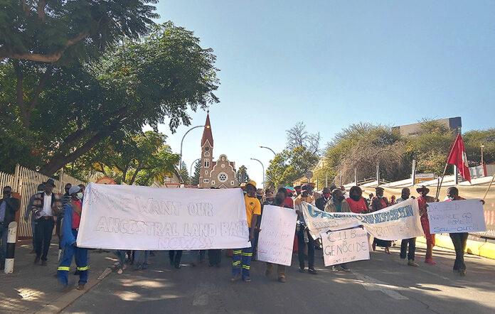 Herero/Nama Demo, Windhoek