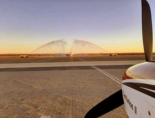 Lufthansa, Namibia