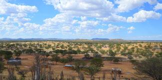 Blick auf Bam se Pos, Namibia