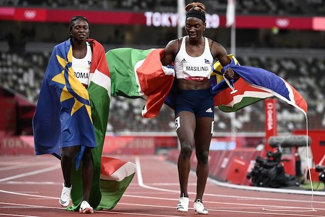 Namibia, Olympia 200m