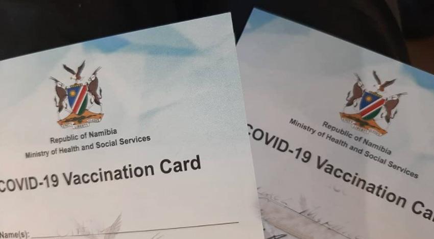 Namibische Covid 19 Impfpässe