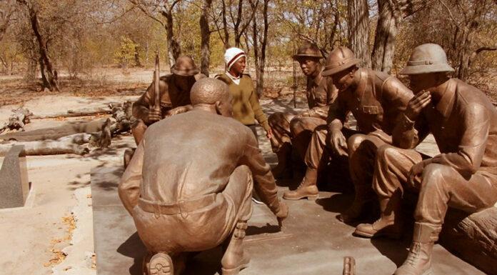 Omugulugwombashe Denkmal