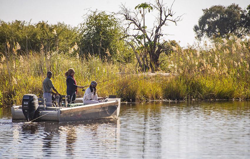 Angelerlebnis am Kwando, Namibia