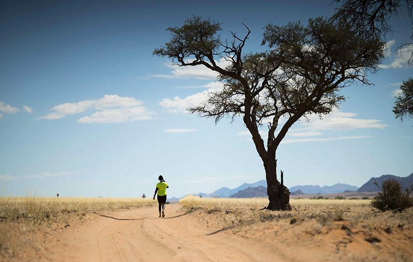 Trailrunning Namib